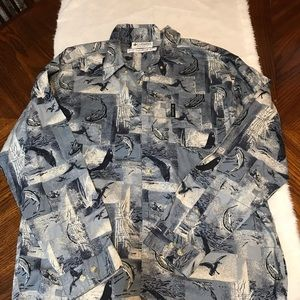 Columbia men button up medium